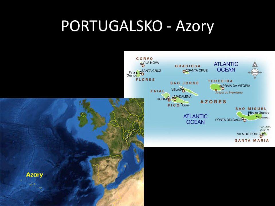 PORTUGALSKO - Azory