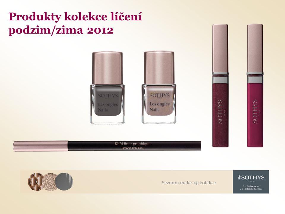 Produkty kolekce líčení podzim/zima 2012 Sezonní make-up kolekce