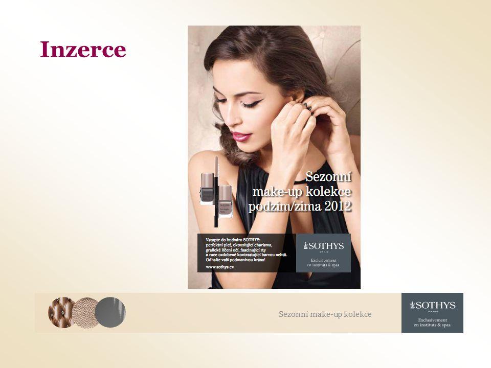 Inzerce Sezonní make-up kolekce