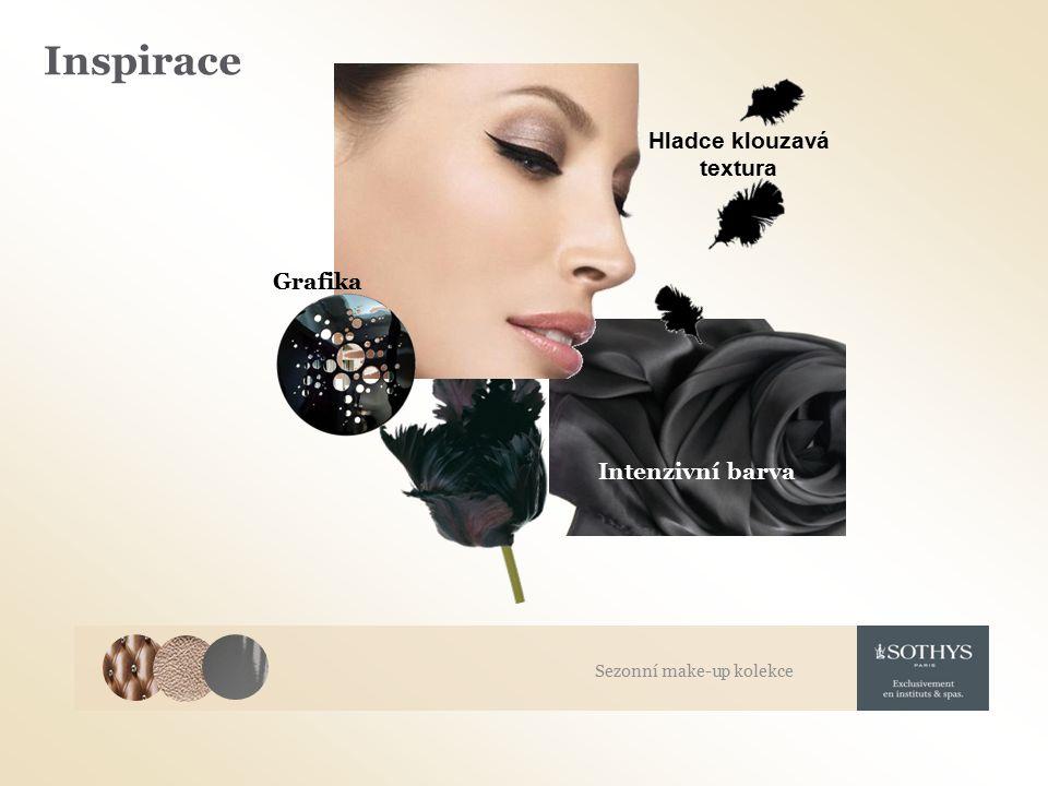 Inspirace Grafika Intenzivní barva Hladce klouzavá textura Sezonní make-up kolekce