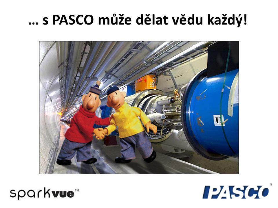 … s PASCO může dělat vědu každý!