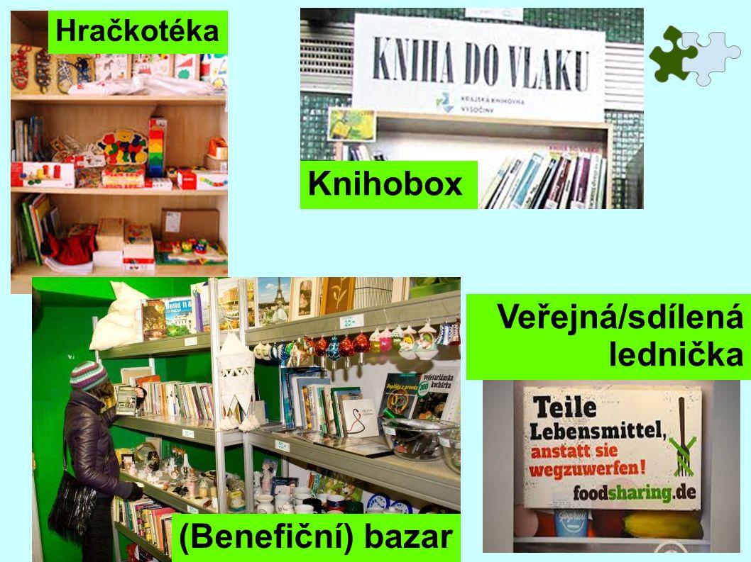 Hračkotéka Knihobox Veřejná/sdílená lednička (Benefiční) bazar
