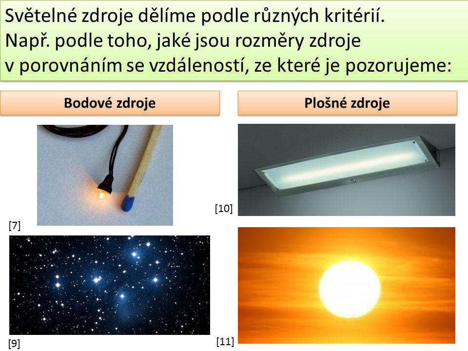 Je Měsíc světelným zdrojem.Měsíc není přímým zdrojem světla, neboť žádné světlo v něm nevzniká.