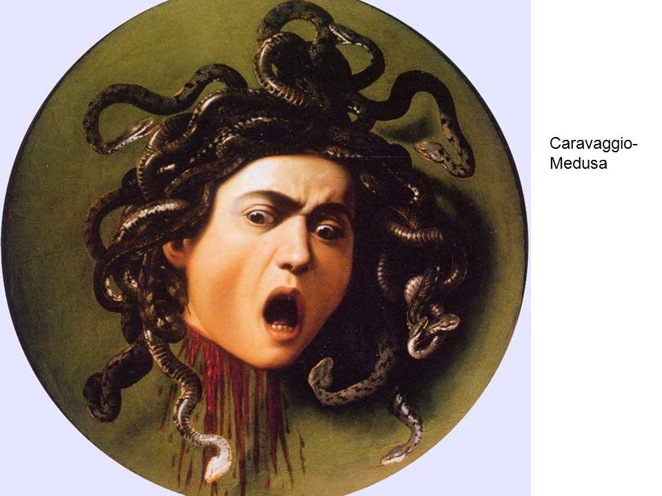 Caravaggio- Medusa
