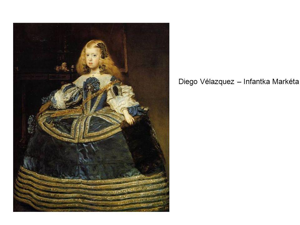 Diego Vélazquez – Infantka Markéta