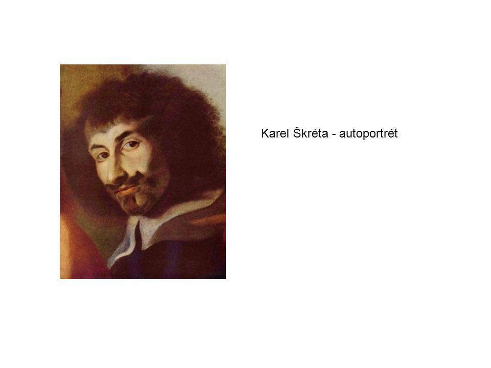 Karel Škréta - autoportrét