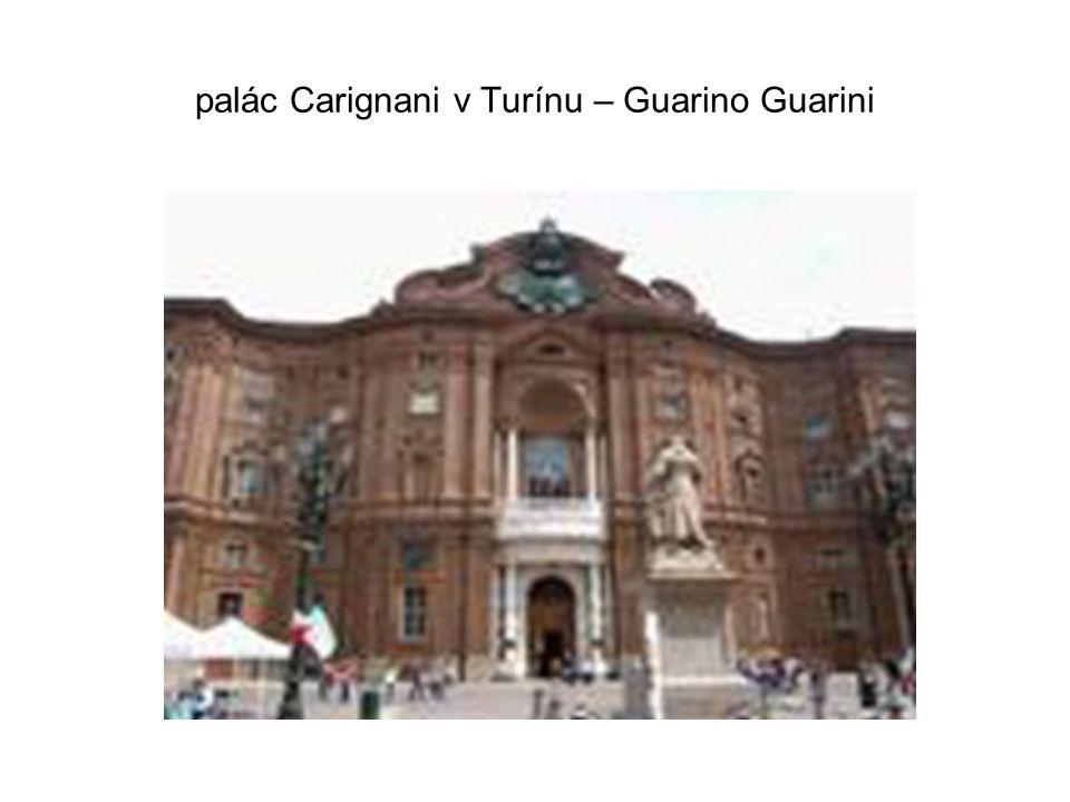 palác Carignani v Turínu – Guarino Guarini