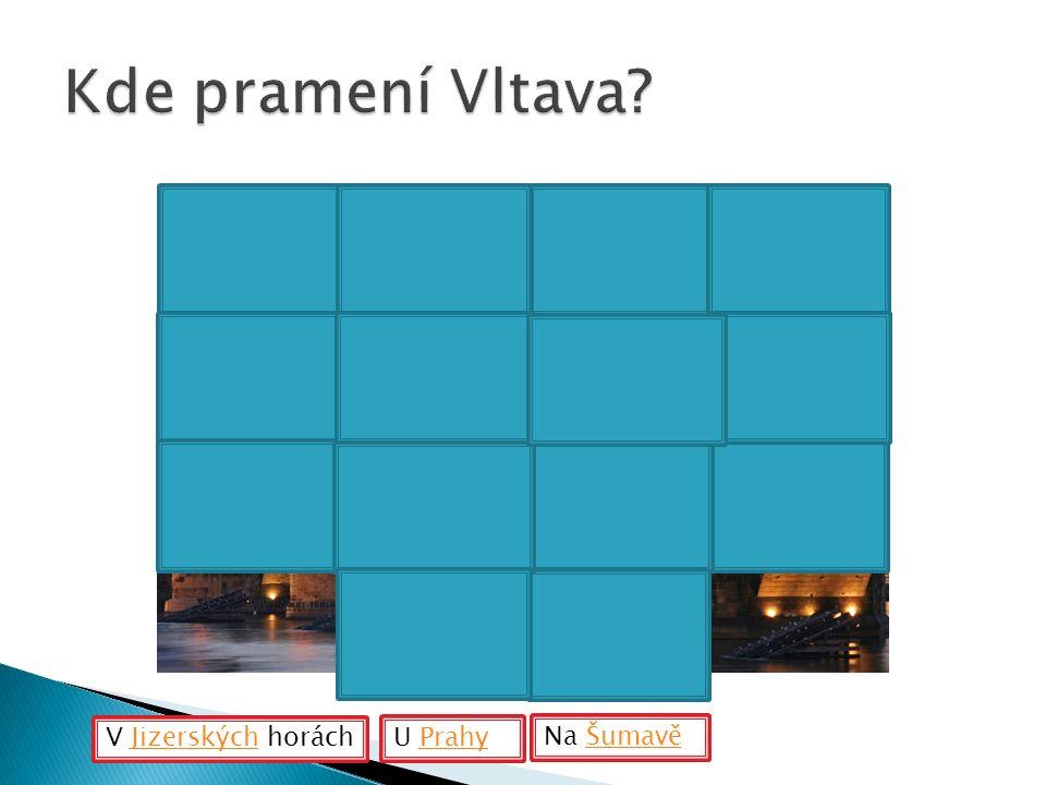 V Jizerských horáchJizerských U PrahyPrahy Na ŠumavěŠumavě
