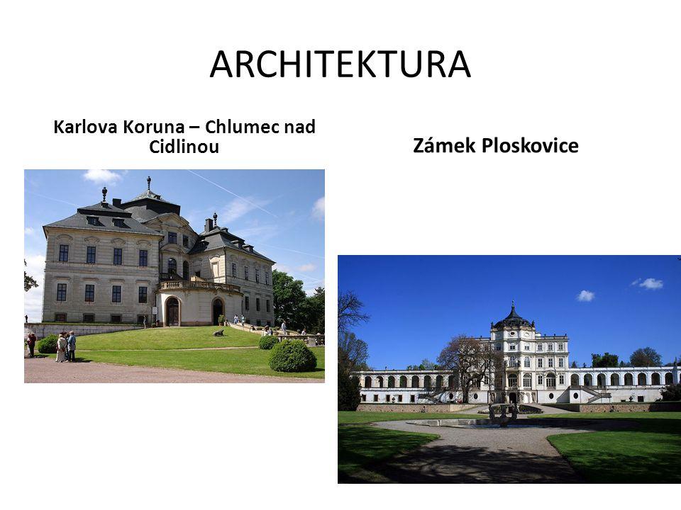 ARCHITEKTURA Karlova Koruna – Chlumec nad Cidlinou Zámek Ploskovice