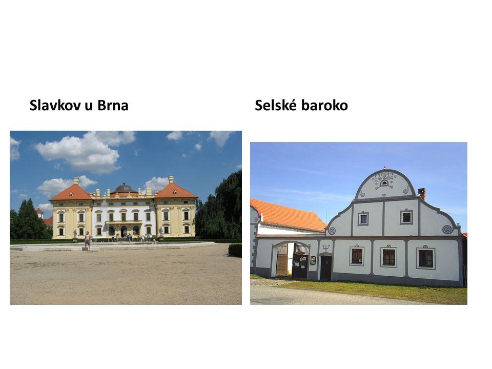 Slavkov u BrnaSelské baroko