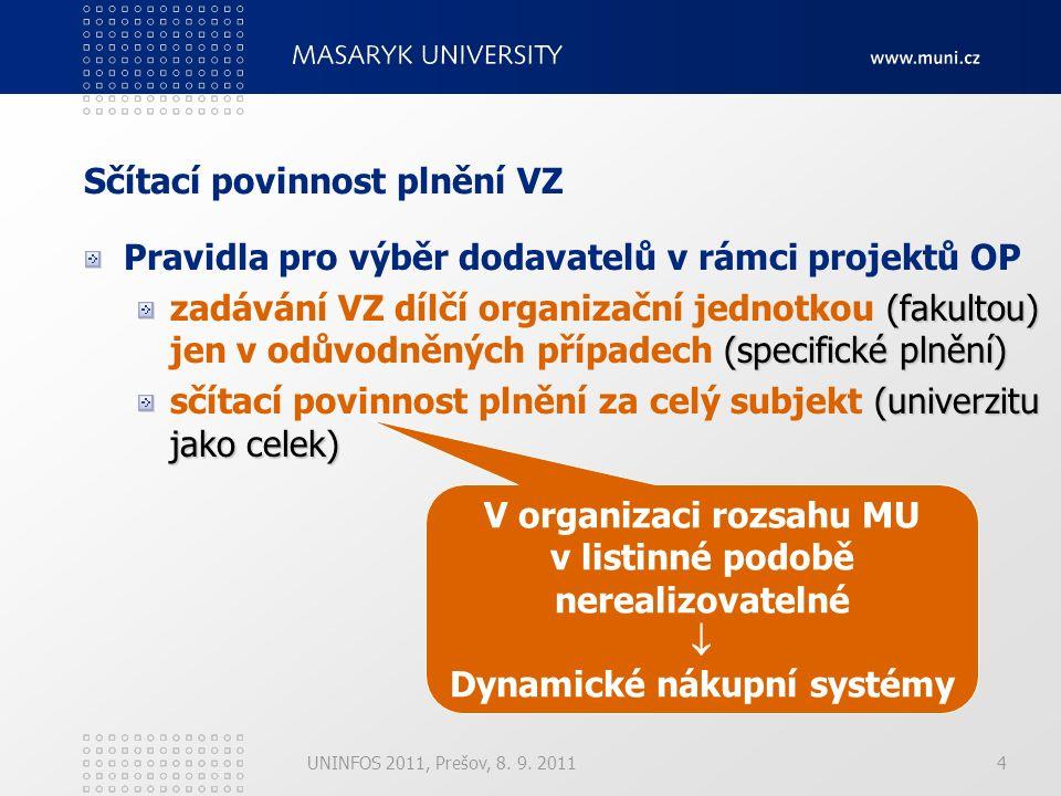 15 EIS (MAGION) UNINFOS 2011, Prešov, 8.9.