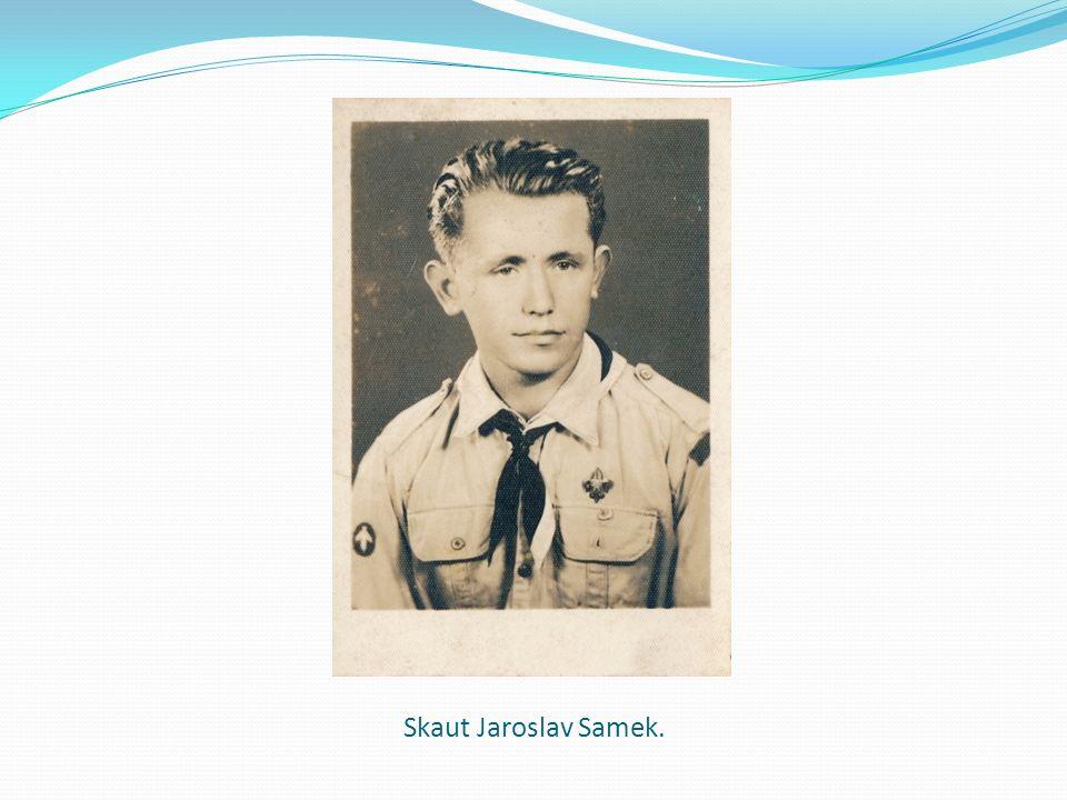 Skaut Jaroslav Samek.