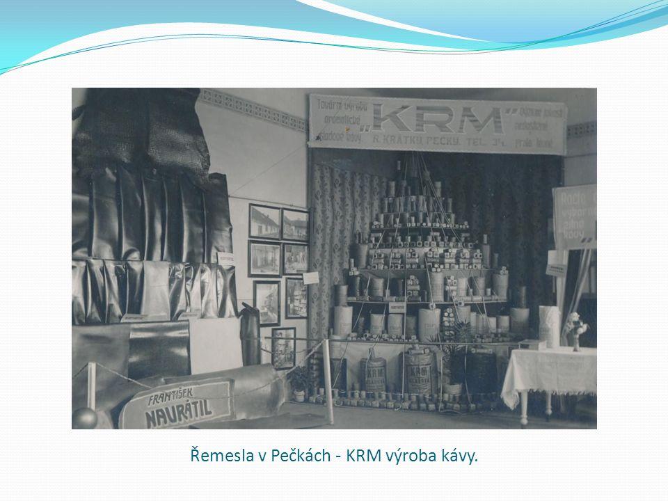 Řemesla v Pečkách - KRM výroba kávy.