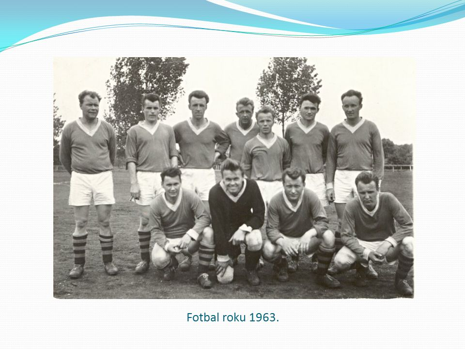 Fotbal roku 1963.