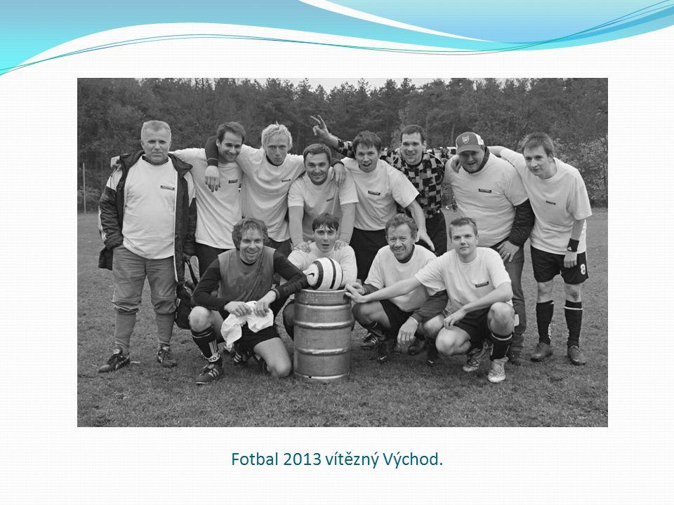 Fotbal 2013 vítězný Východ.