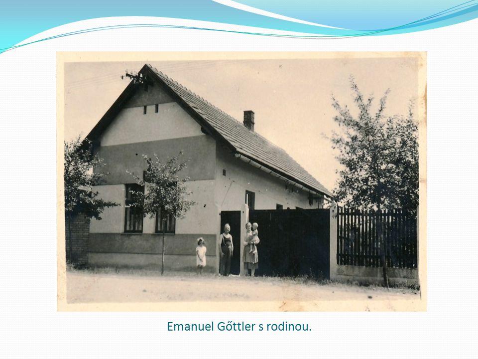 Emanuel Gőttler s rodinou.