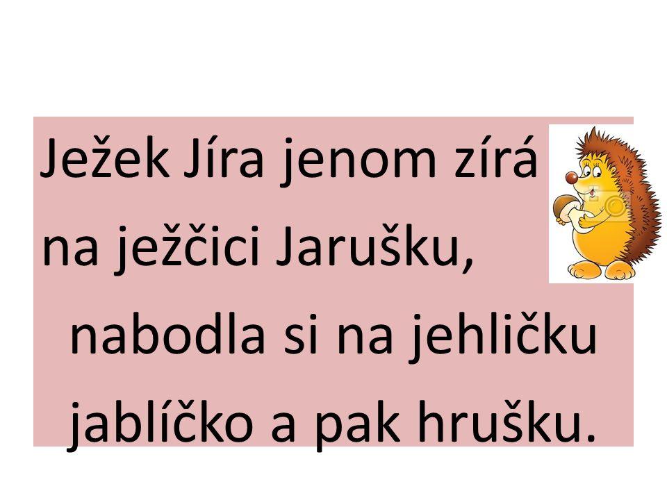 J SE STĚHUJE J J J J