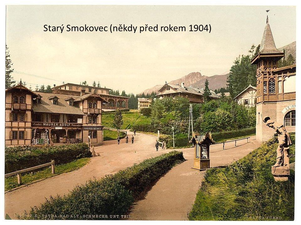 """Vysoké Tatry,...a """"naše"""" jízdy do Tater i nazpět, (a to nejen s EM-jednotkami z 20. století) od JirAd... s použitím starších fotek """"vlastních"""" i """"cizí"""