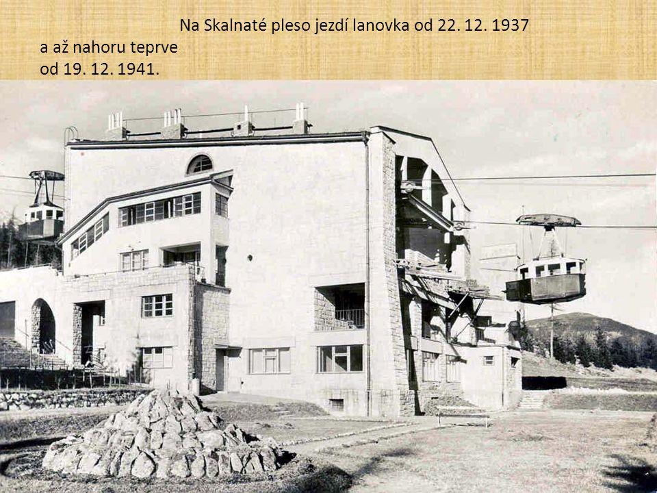 """... od 16. 12. 1911 nejdřív """"druhé křídlo THEVV"""" (snímek je však pořízen až po 2. světové válce)"""