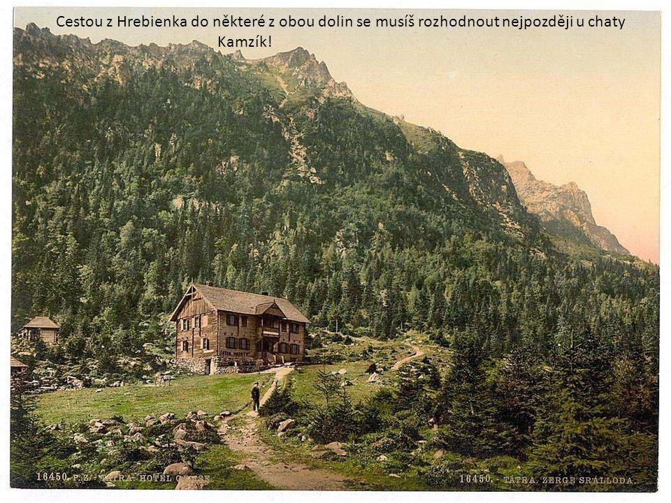 """Velký studený potok (správně česky """"Kohlbach ) ve Velké studené dolině kdysi a """"nedávno"""