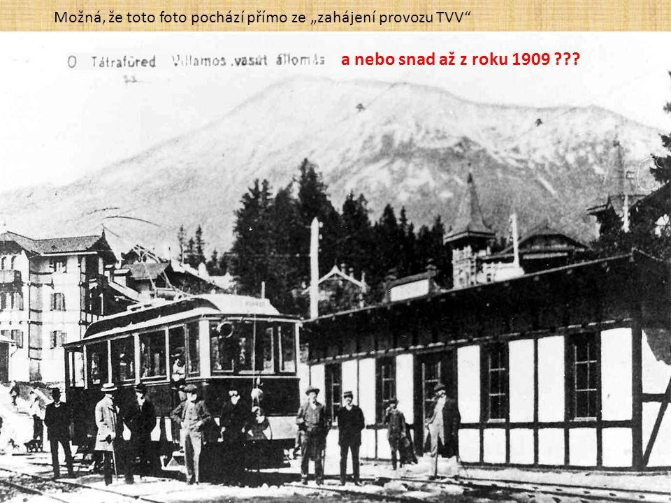 """... a 3 dny předtím, tj. 17. 12. 1908, zahájila i tato lanovka (pohlednice """"Lichtig"""" je však mnohem mladší)"""