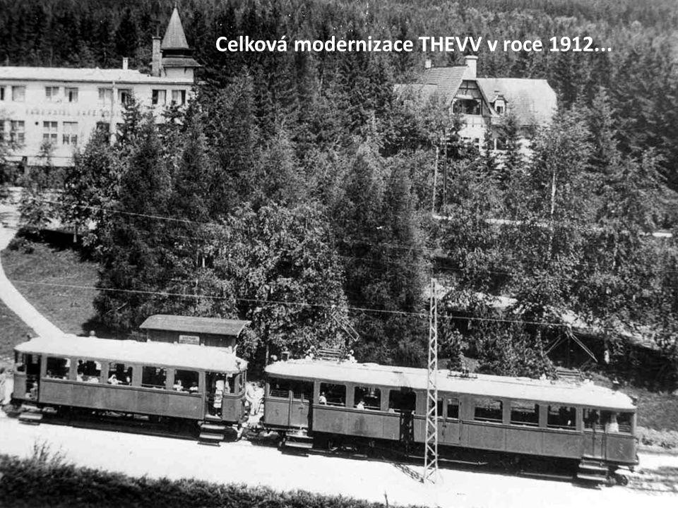 """a nebo snad až z roku 1909 Možná, že toto foto pochází přímo ze """"zahájení provozu TVV"""