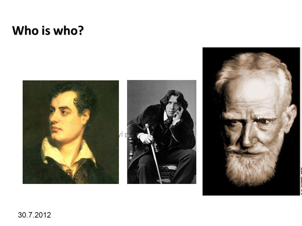 Kliknutím lze upravit styl předlohy. 30.7.2012 Who is who?