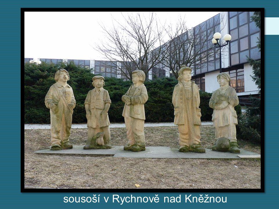 sousoší v Rychnově nad Kněžnou