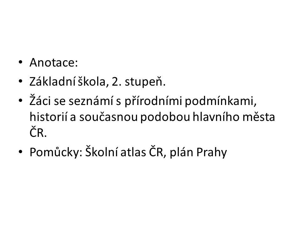 Přírodní podmínky Pražská plošina – teplejší klima, dostatek vody (Vltava), členitý terén (strategická poloha), blízkost úrodného Polabí (potraviny), Kladenska (č.