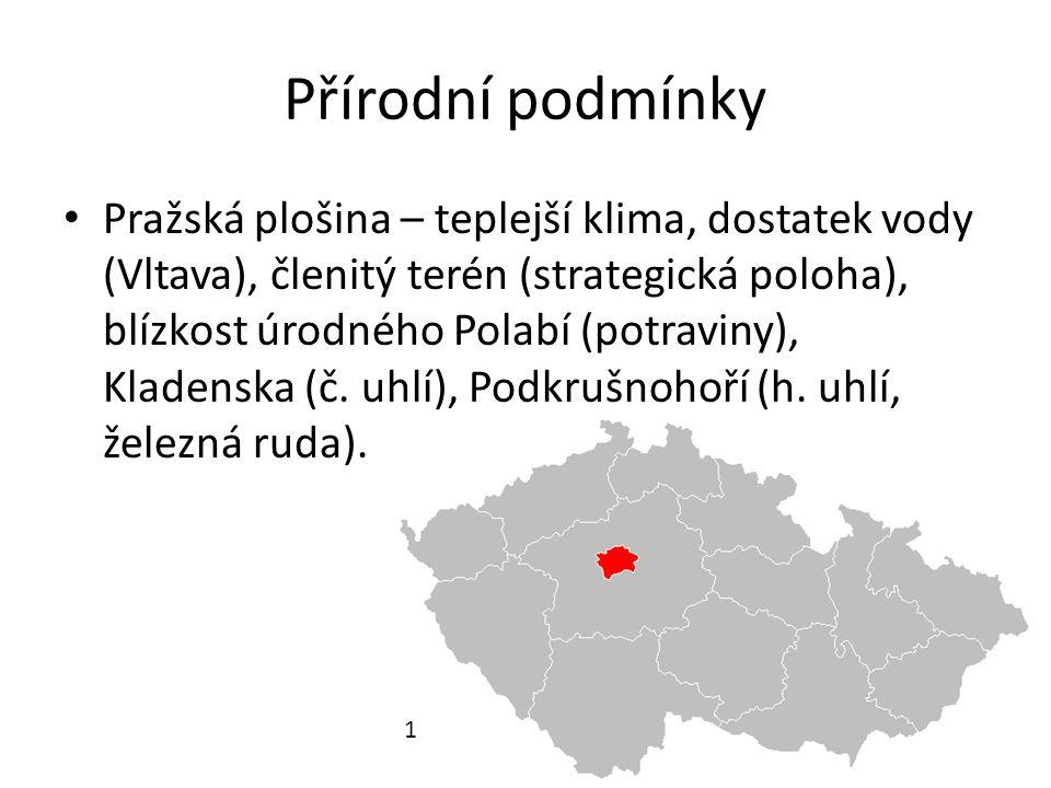 Historie Germáni, od 6.stol.Slované, od 10.stol. vzniká základ Pražského hradu Od 12.
