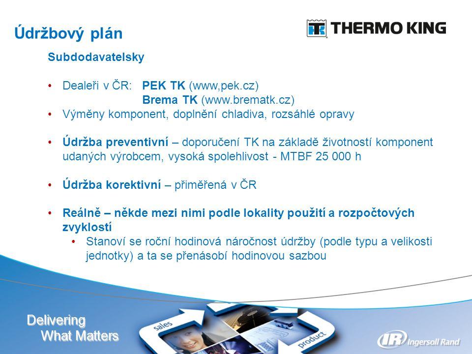Delivering What Matters www.etcprg.cz Klimakomory Měření hluku Dlouhodobé testy komponent Vibrační testy Ověřovací výkonové testy klimatizací