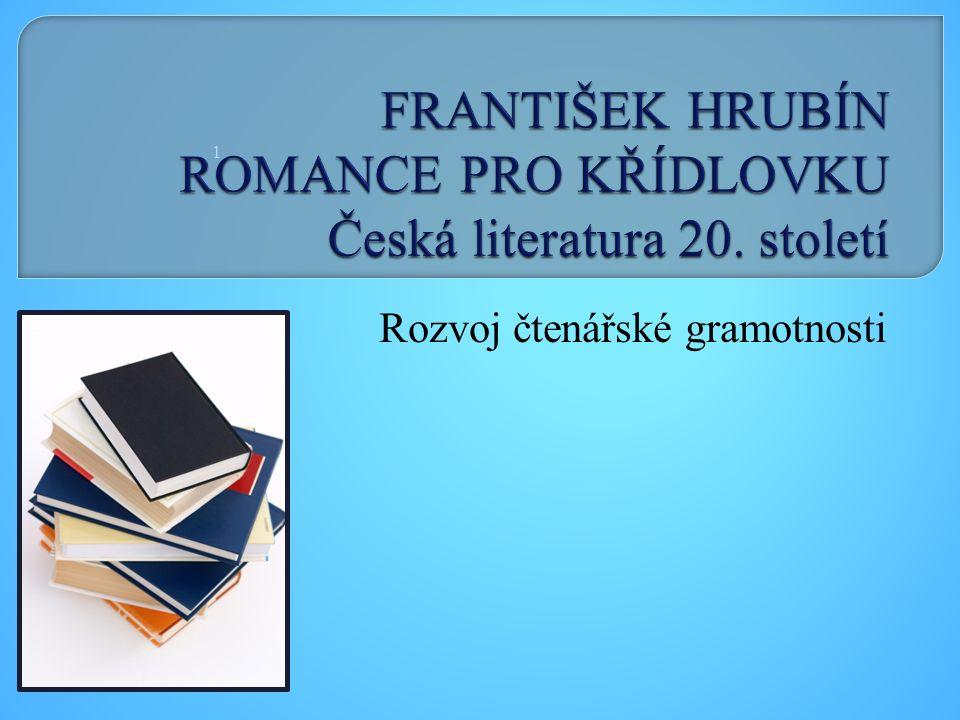 Rozvoj čtenářské gramotnosti 1