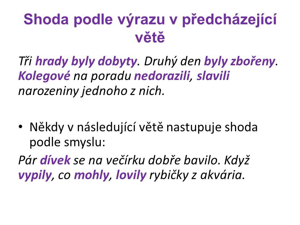 Seznam zdrojů Elektronická jazyková příručka Ústavu pro jazyk český AV, dostupná: www.ujc.cas.czwww.ujc.cas.cz STYBLÍK, Vlastimil a Marie ČECHOVÁ.