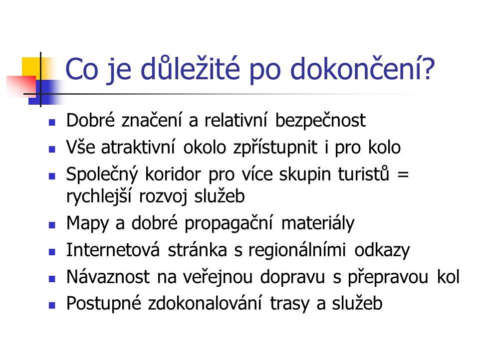 Trasa – hlavní turistické cíle Mladá Boleslav (ne) Benátky nad Jizerou (ne) Stará Boleslav, Brandýs (ne) (Jenštejn (ne)) (Ctěnice (ano))...Praha