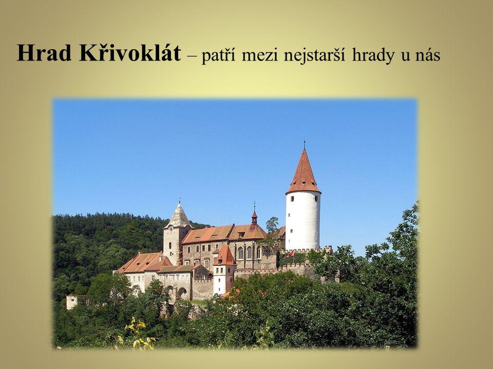 Hrad Křivoklát – patří mezi nejstarší hrady u nás