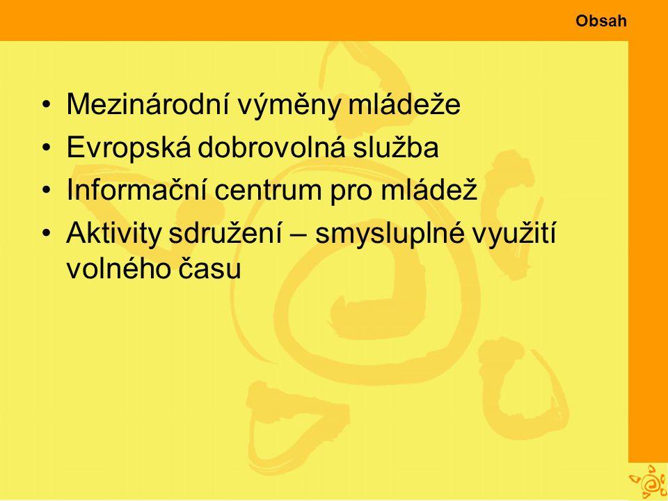 Něco navíc Podpora Vašich aktivit – vlastní iniciativě se meze nekladou Zapojení do běžících projektů Malé místní akce (drakiáda, výstavy…) Spolupráce s organizacemi podobného zaměření v ČR i zahraničí Semináře pro pracovníky s mládeží