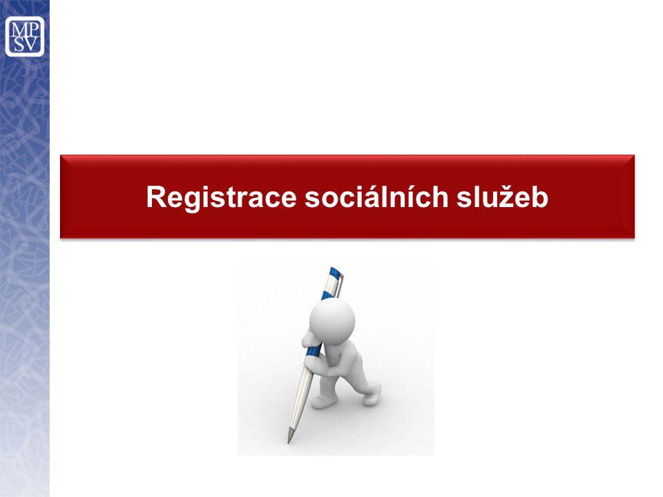 Registrace sociálních služeb