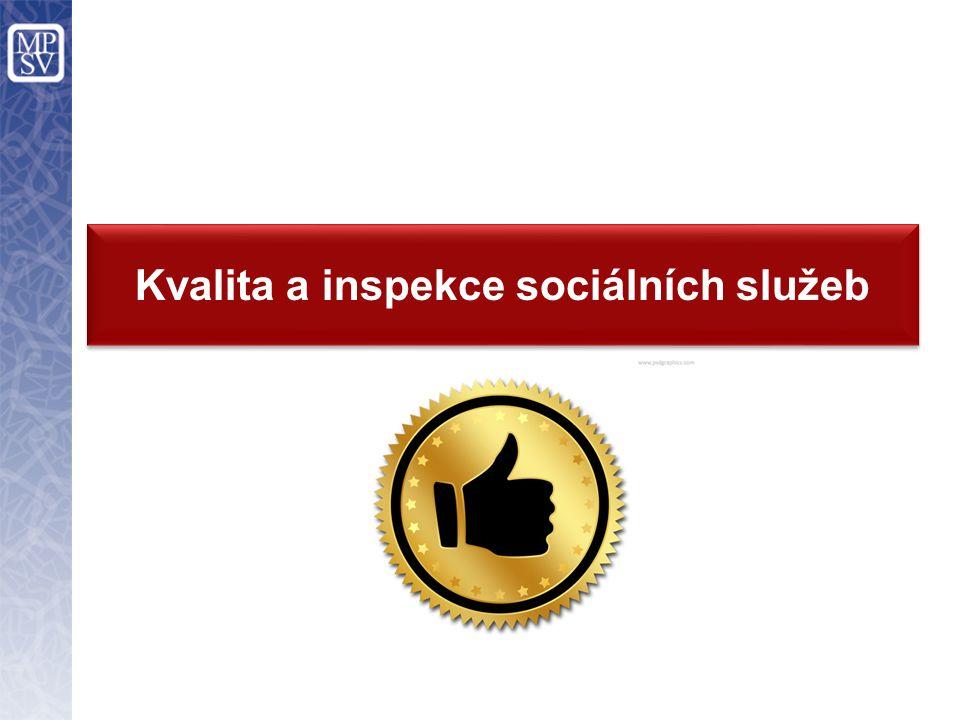 Kvalita a inspekce sociálních služeb