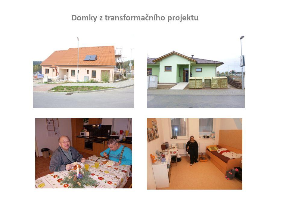 Domky z transformačního projektu