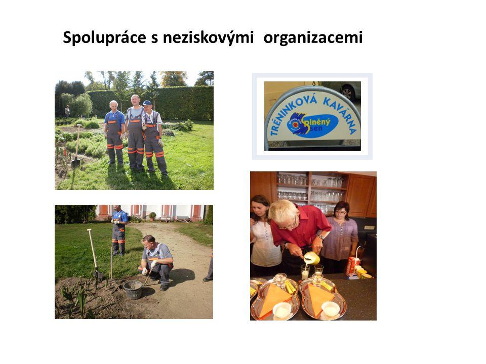 Spolupráce s neziskovými organizacemi