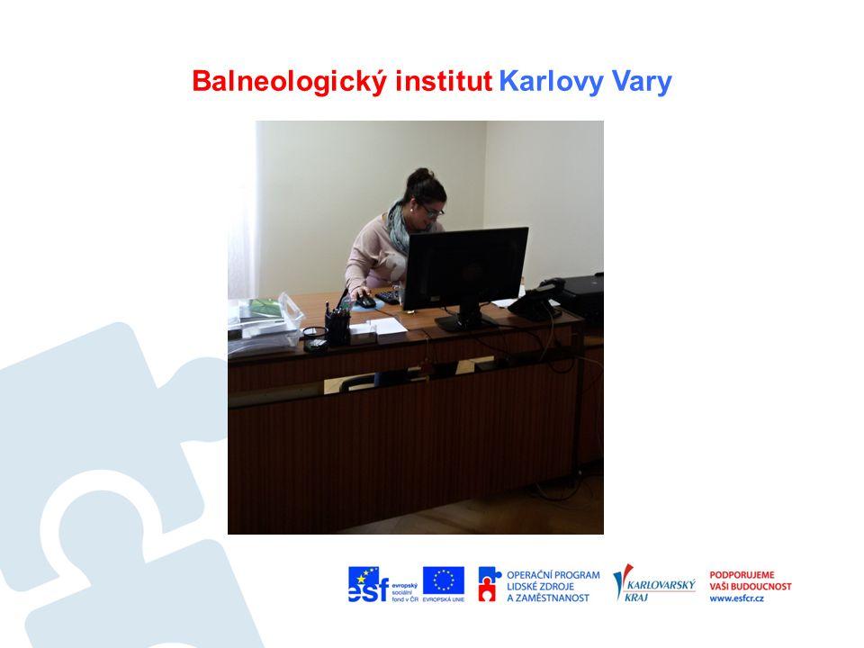 Balneologický institut Karlovy Vary