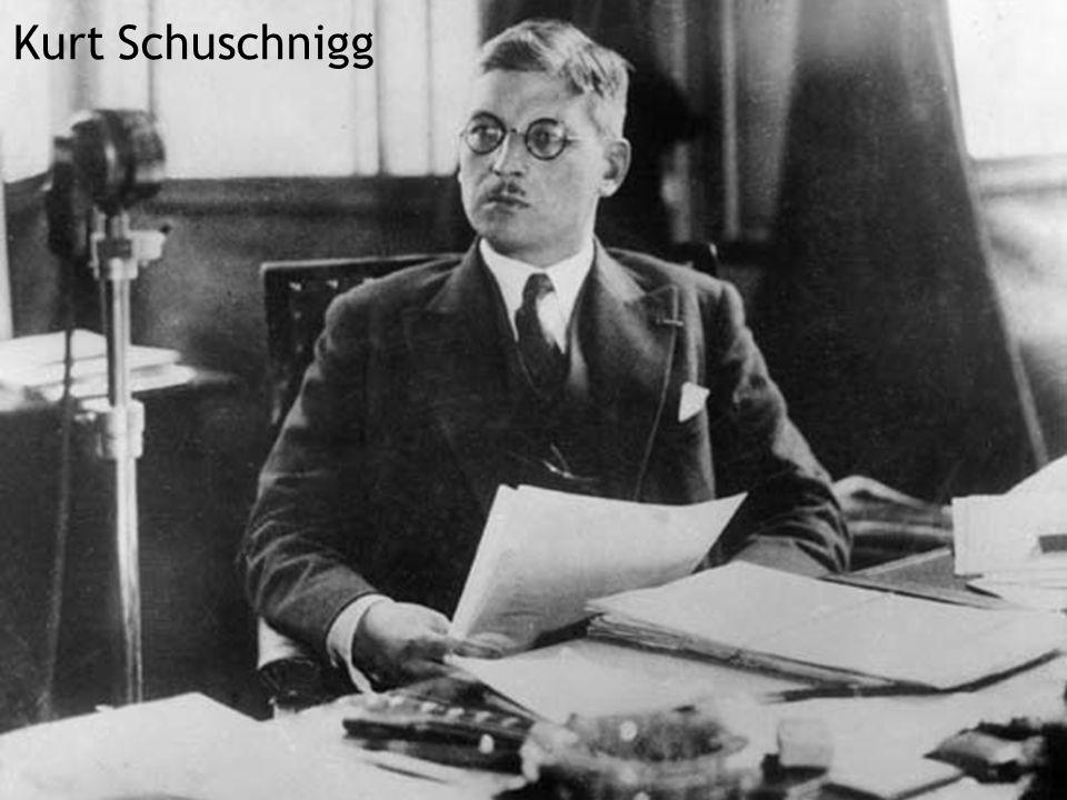 www.law.muni.cz Vojáček10 Kurt Schuschnigg