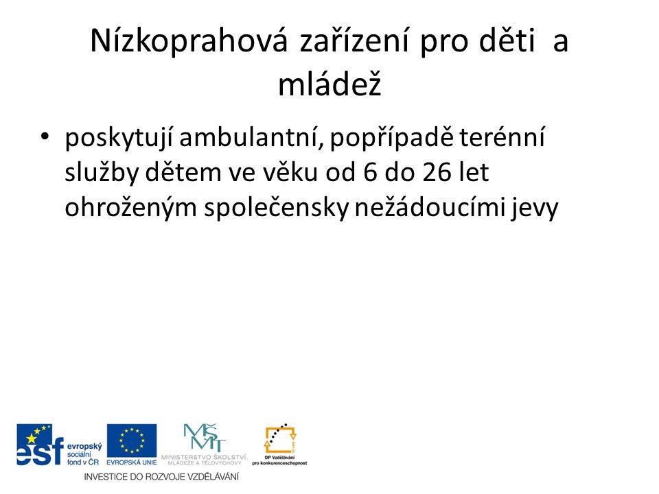 Nízkoprahová zařízení pro děti a mládež II.