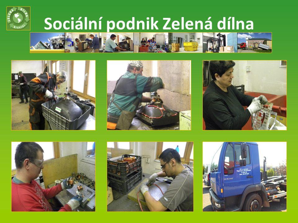 Sociální podnik Zelená dílna Listopad 2013 10