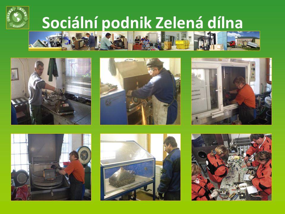 Sociální podnik Zelená dílna Listopad 2013 9
