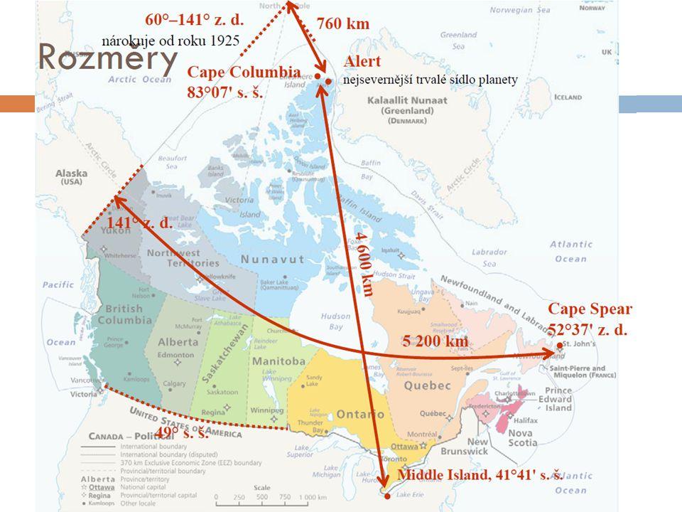 Před příchodem Evropanů …  2 odlišné skupiny domorodců:  Indiáni přišli na území Kanady cca před 30 tis.