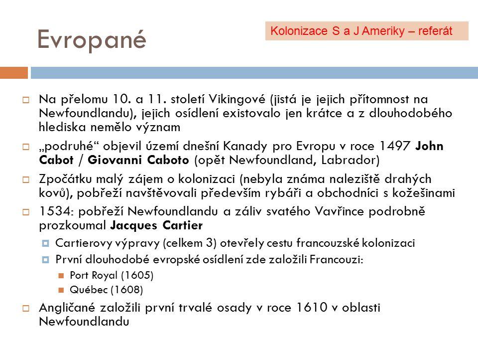 Evropané  Na přelomu 10.a 11.