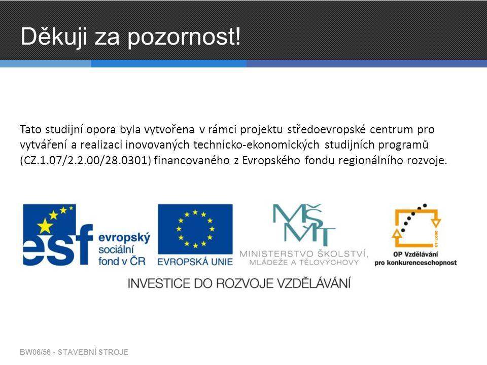 Tato studijní opora byla vytvořena v rámci projektu středoevropské centrum pro vytváření a realizaci inovovaných technicko-ekonomických studijních pro
