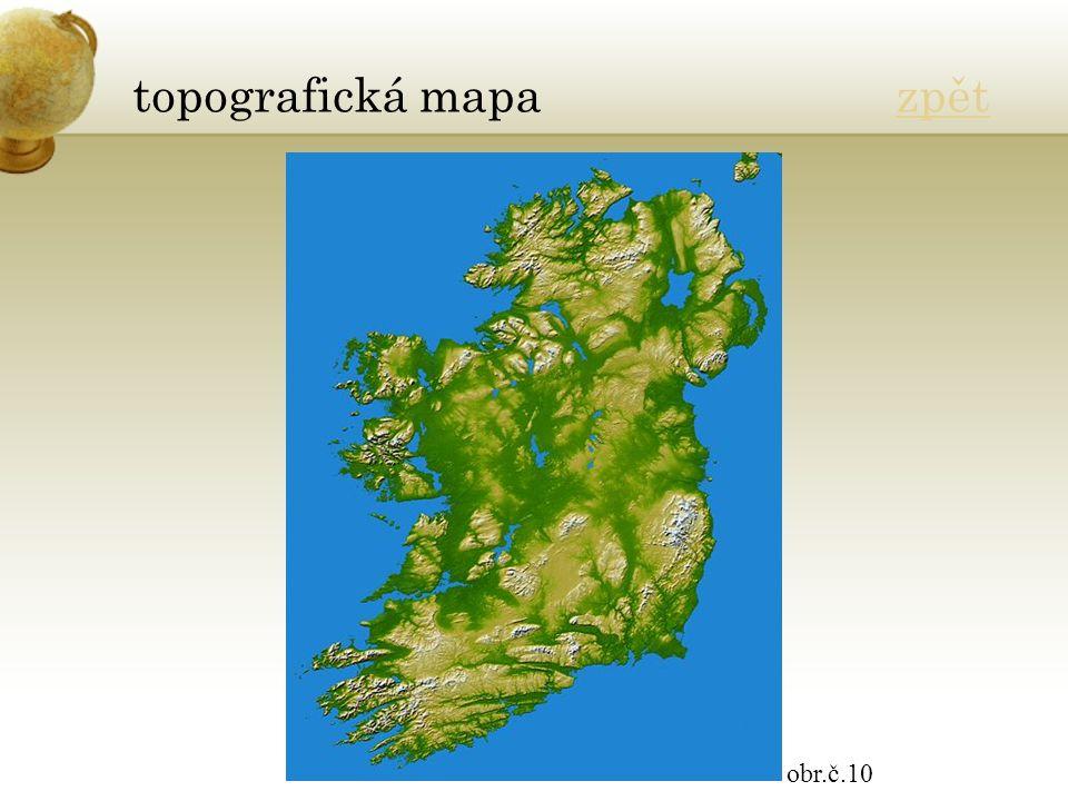 topografická mapa zpětzpět obr.č.10