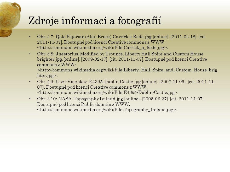 Zdroje informací a fotografií Obr. č.7: Qole Pejorian (Alan Bruce).Carrick a Rede.jpg.[online]. [2011-02-18]. [cit. 2011-11-07]. Dostupné pod licencí
